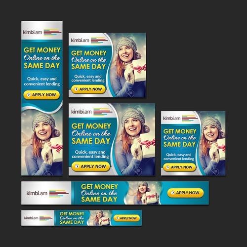 Banner Ad for Online Money Lending Firm