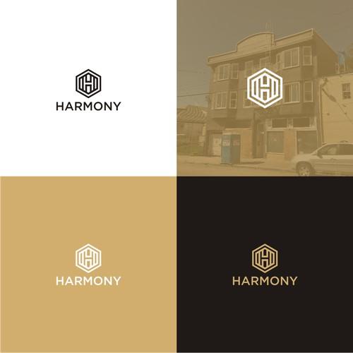 Modern and premium logo for HARMONY