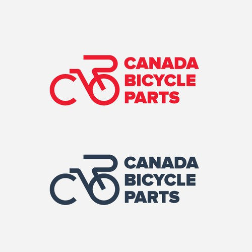 Unused logo proposal for Canada Bicycle Parts