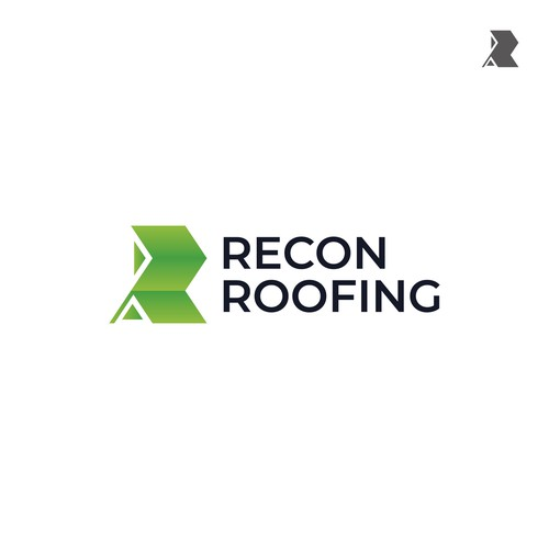 Simple Logo Concept for Recon Roofing