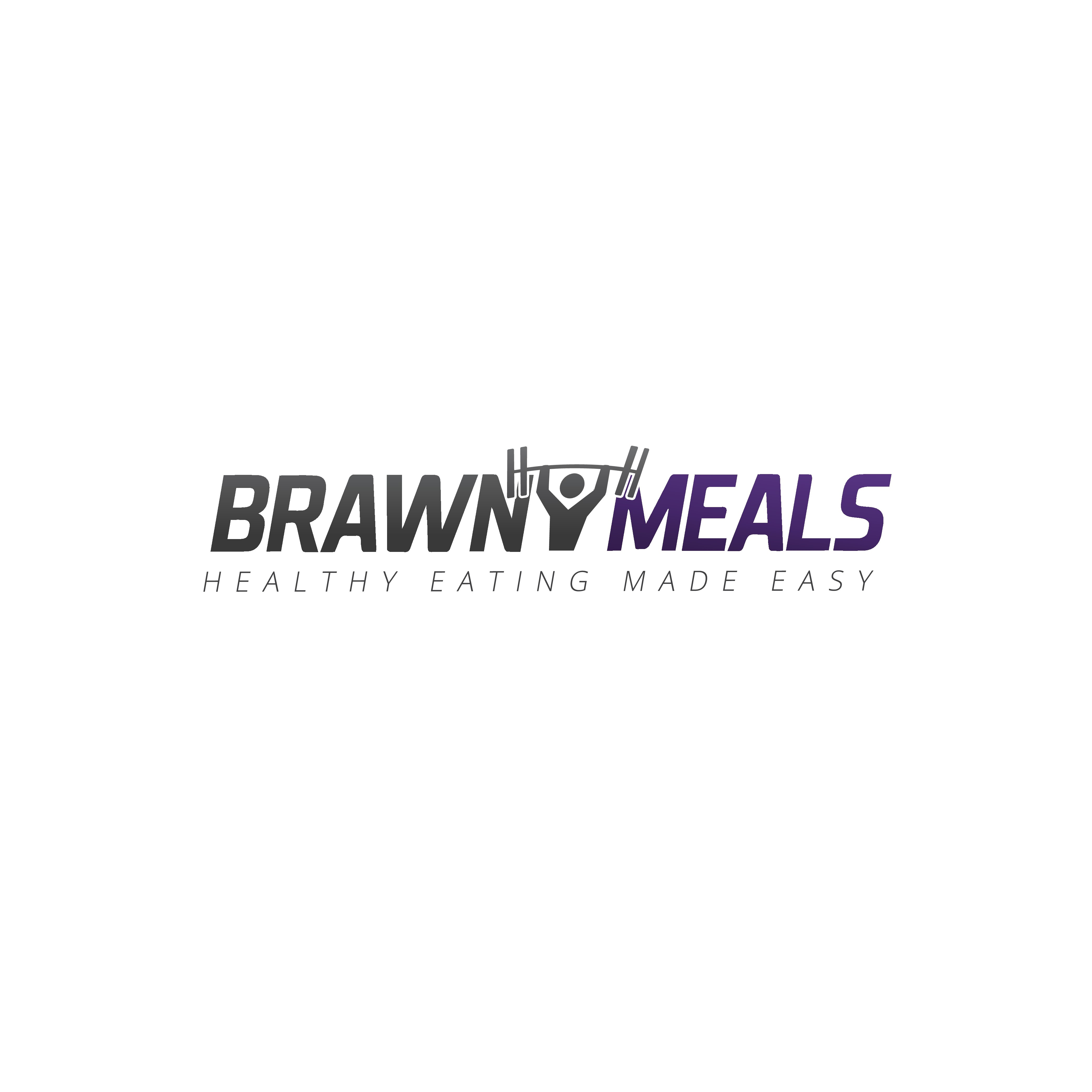Create a cool logo for a meal delivery services aimed at busy bodybuilders and sports enthusiasts
