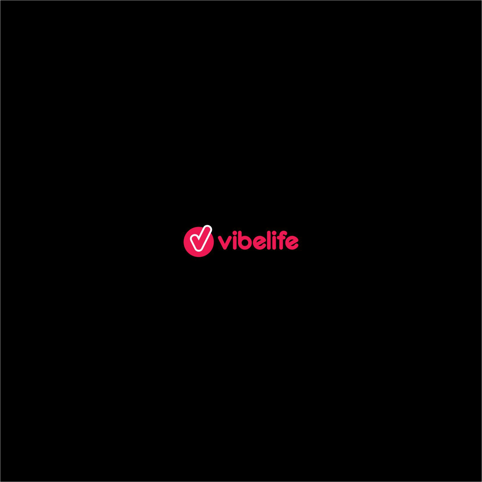 A revision to the vibelife logo that you designed