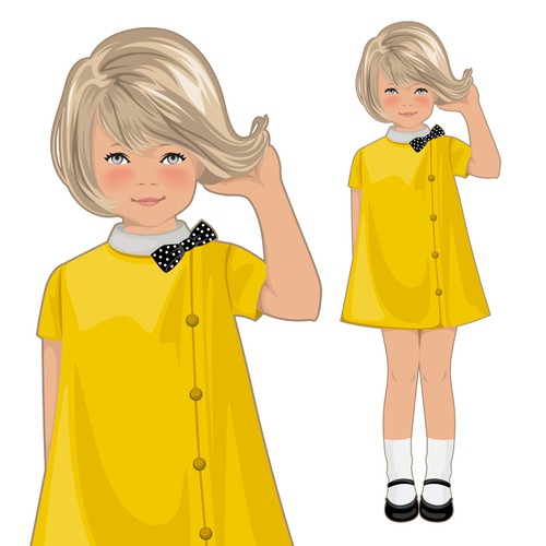 Create the next illustration or graphics for Miss Georgie