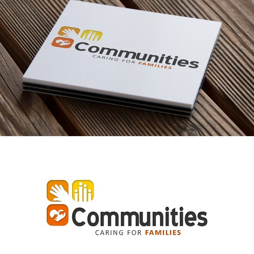 Logo for community