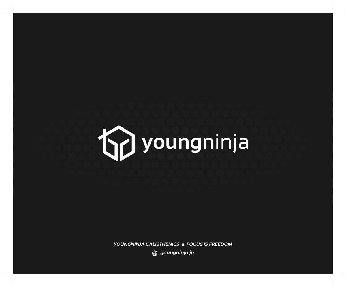 Packaging Box design for youngninja calisthenics Weight Vest