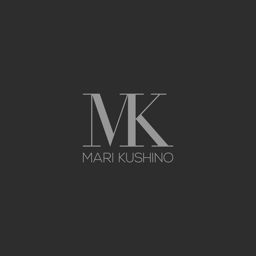 Modern, sophisticated logo for interior design firm
