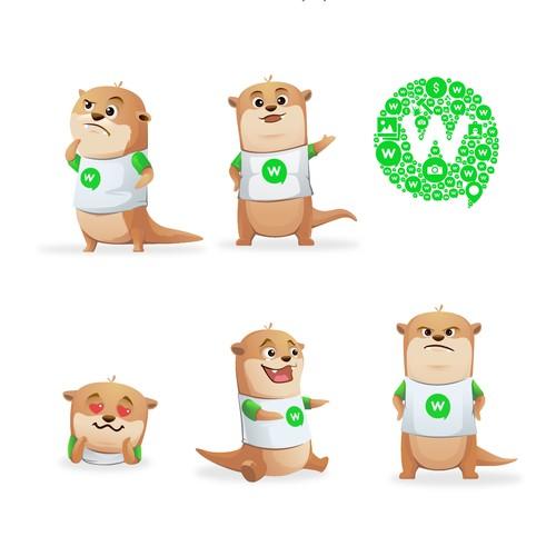 winapp mascot design