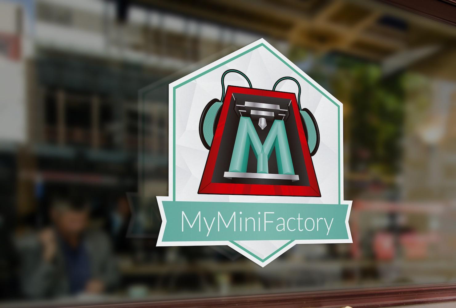 MyMiniFactory Sticker Design Challenge
