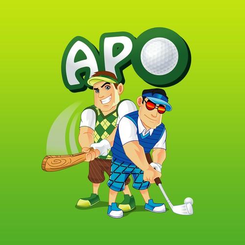 A.P.O. Logo