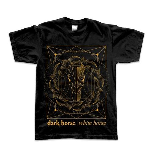 Design concept for dark horse | white horse