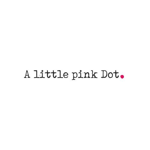 A little pink dot logo