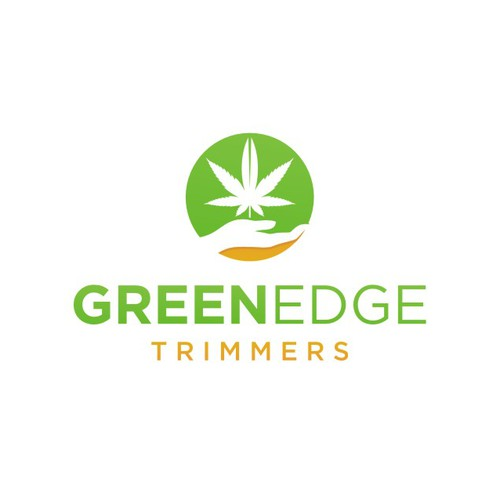 Logo Revamp for GREEN EDGE TRIMMERS, a Cannabis Trimming Company