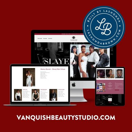 VANQUISH BEAUTY STUDIO | Salon