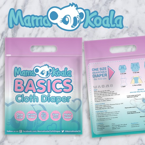 Cloth Diaper Packaging