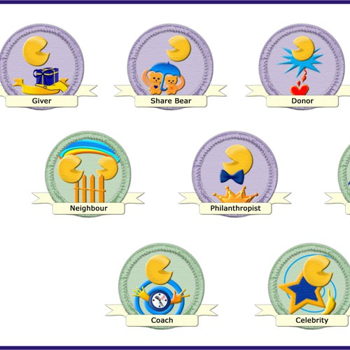 Icon badges