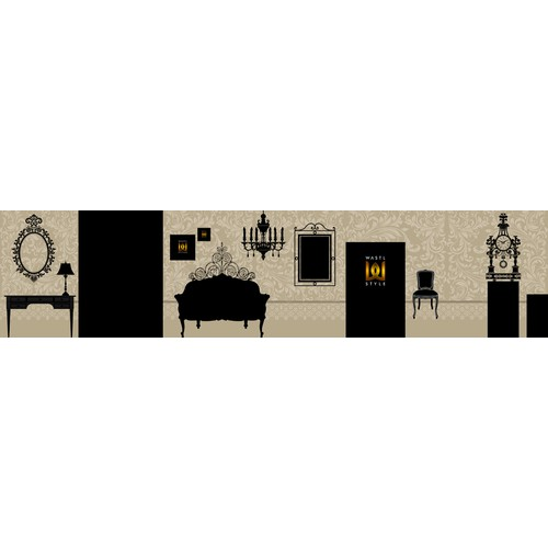 Creative Design for a front/fassade of a Hotel interiors Showroom