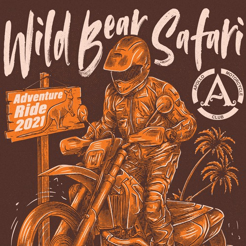 Shirt illustration for Safari Event