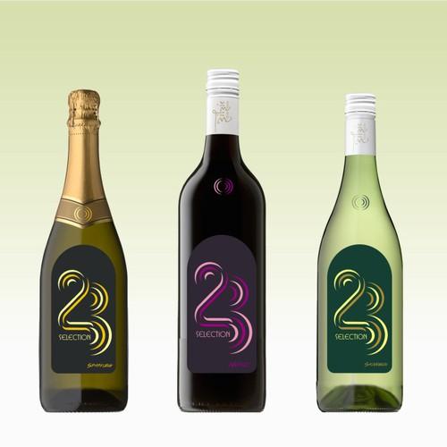 23 selection wine lebel