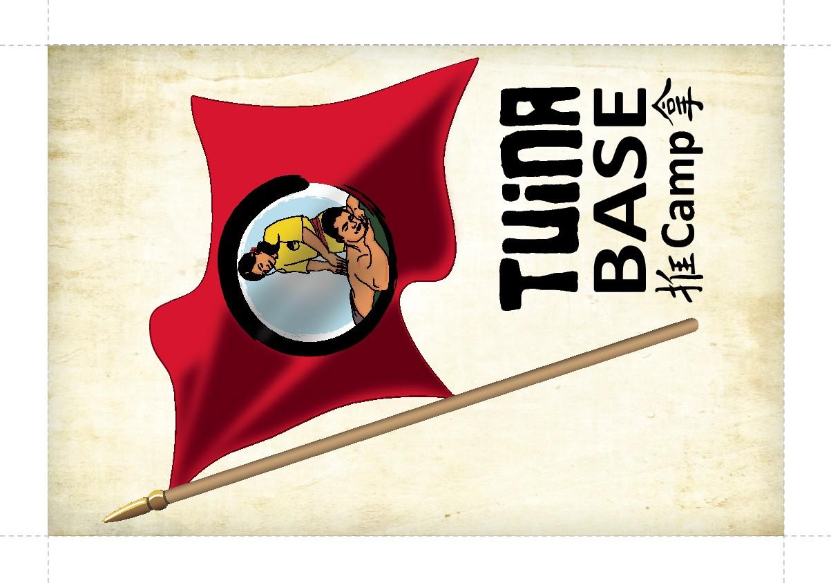 Tuina Base Camp Flag