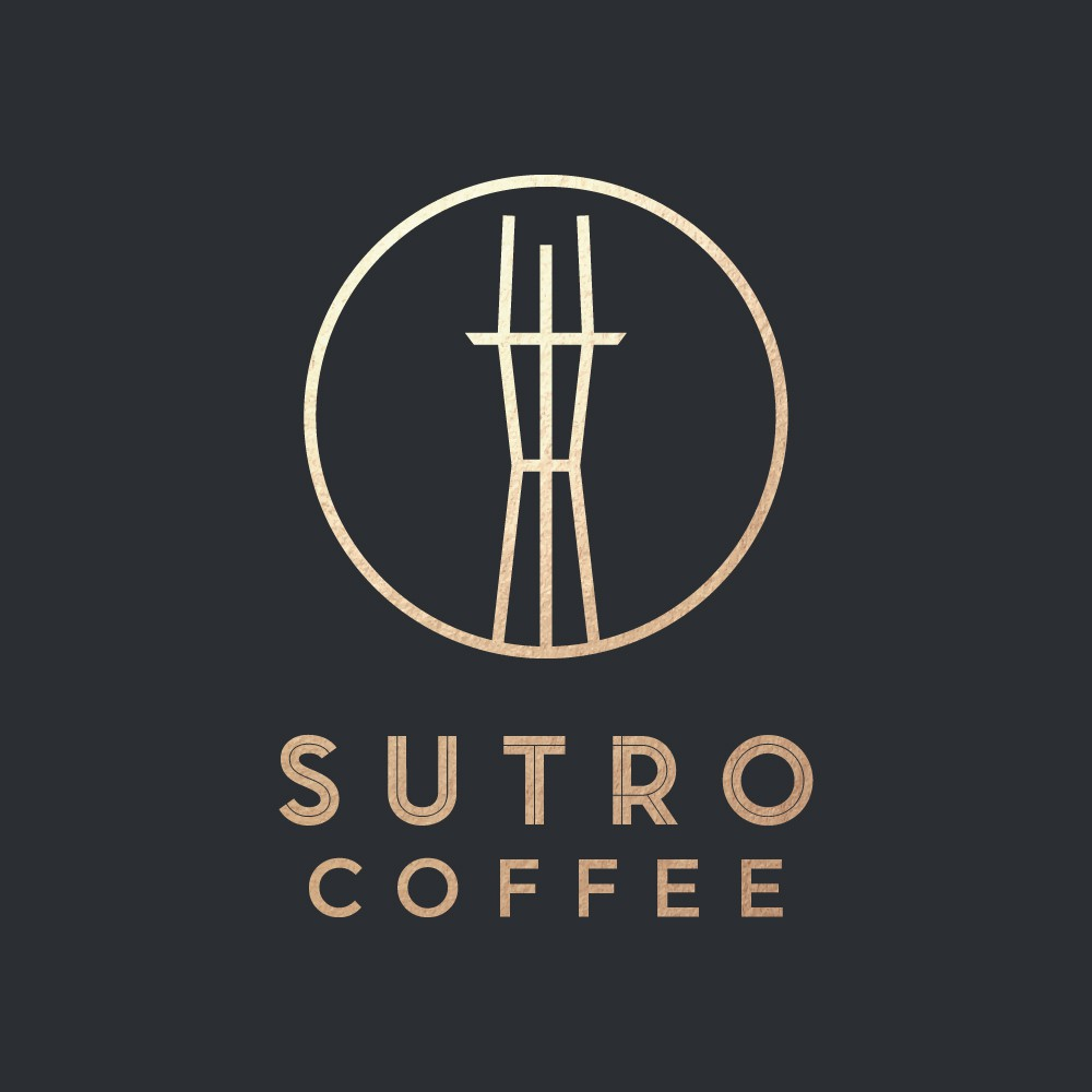 Create a sleek, modern logo for Sutro Coffee