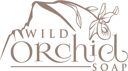 Create a beautiful wildflower orchid illustration for my artisan soap company in Yosemite.