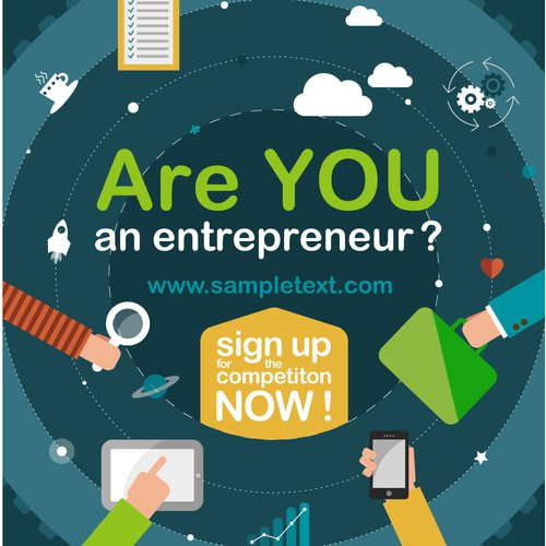 Students startup challenge needs a key visual / illustration!