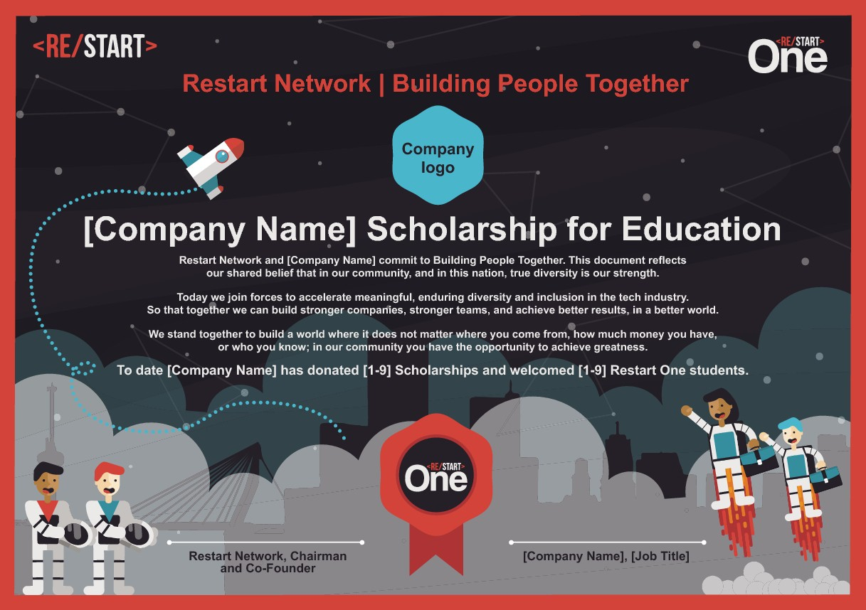 Restart Scholarship Diploma