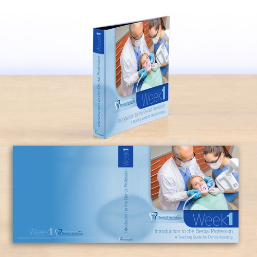 Professional and clean binder design needed for Dental education company