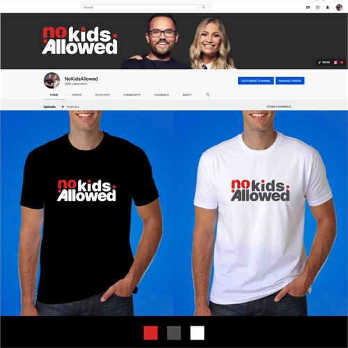 Logo for No Kids Allowed