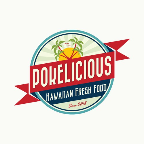 Logo for an hawaiian restaurant