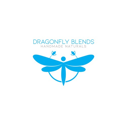 Logo concept for Dragonfly Blends
