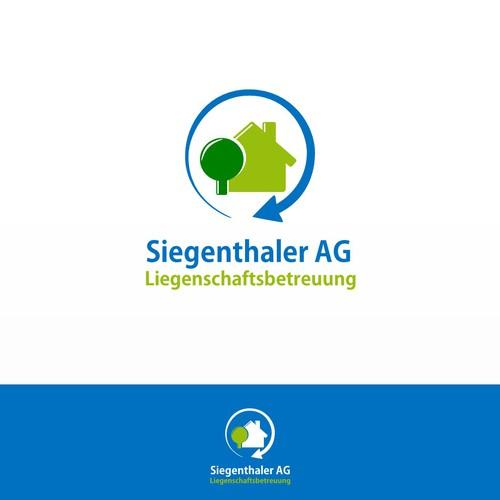 Logo for a Swiss facility management enterprise