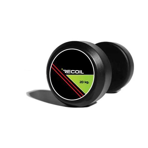 Dumbbell-design for Recoil