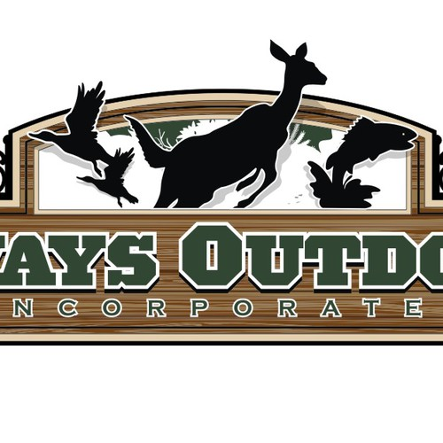 Logo For Always Outdoors Company