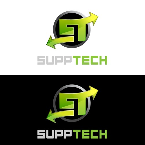 SuppTech Logo Design