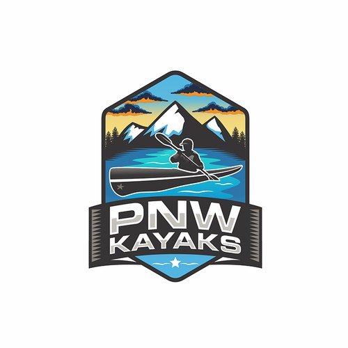 Kayak Shop Company Logo