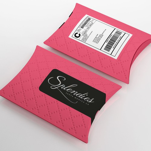 Pillow Box Mailer for Panties Club