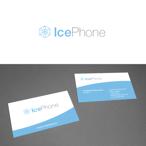 Logo design for Smartphone Repair in Iceland