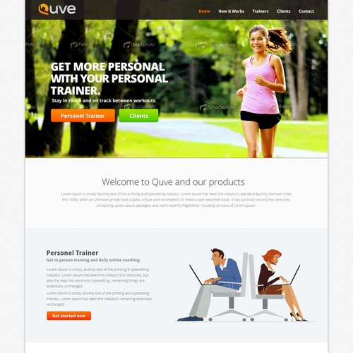 Quve needs a new website design