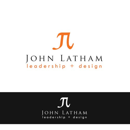 Create a logo for John Latham a leadership + design researcher, writer, teacher, consultant