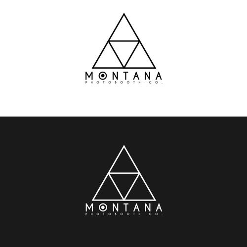 A geometric style logo