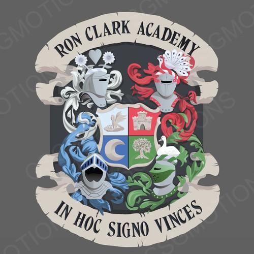 Ron Clark Crest Illustration