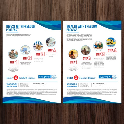 Flyer Invest with freedom process