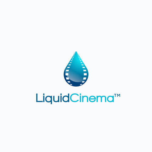 Logo concept for Liquid Cinema