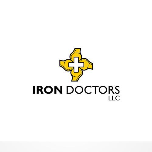 Simple Yet Modern Logo for Iron Doctors LLC