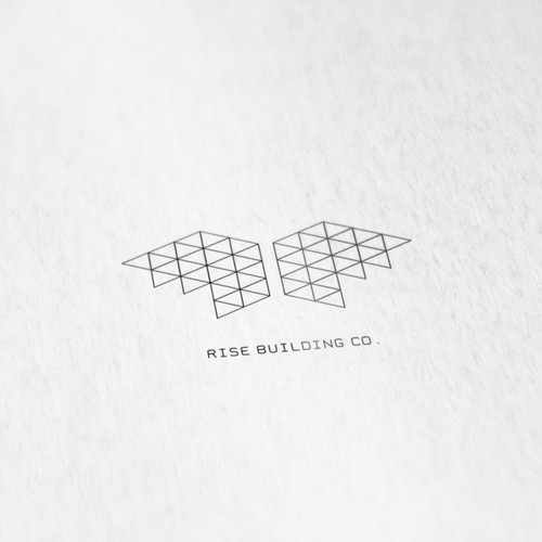 logo concept for constructions firm