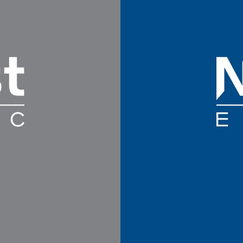 Simple logo for NorEast Electric