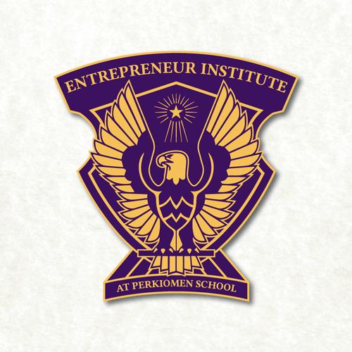 Emblem/crest logo for an entrepreneur institute