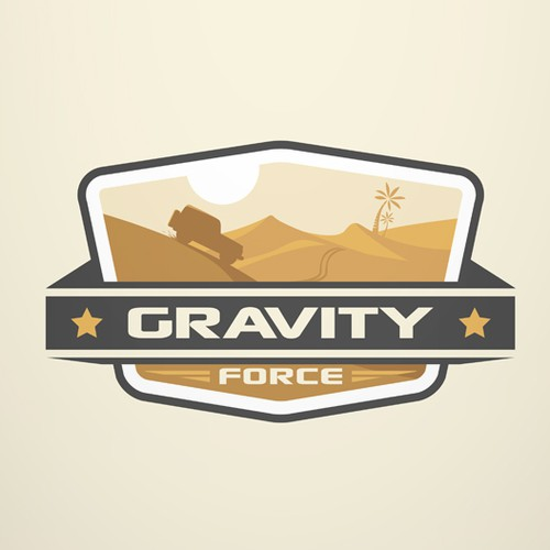 Create a winning logo for GRAVITY FORCE