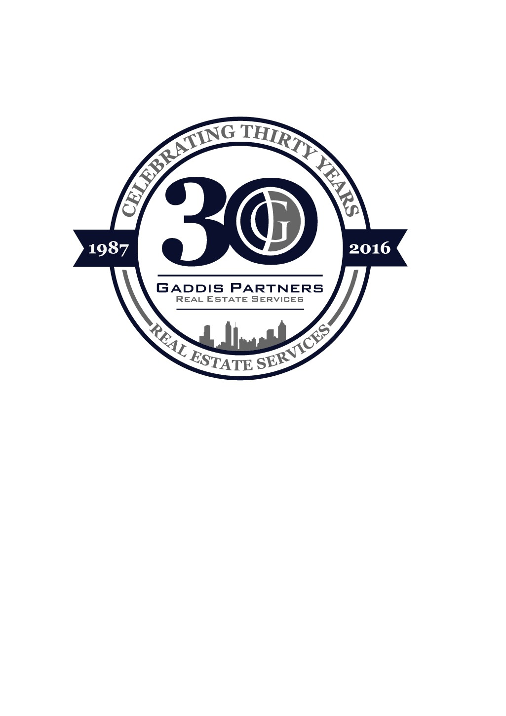 Gaddis Partners needs a 30 year Celebration logo